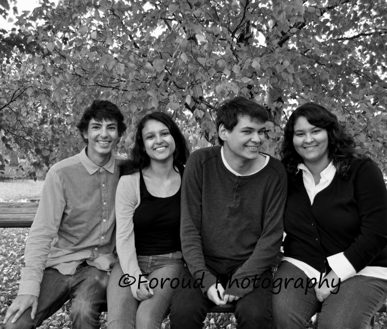 brothers and sisters black and white